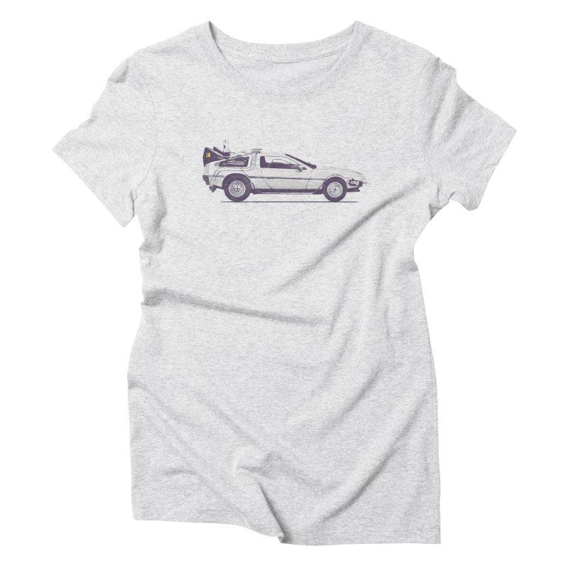Delo Women's Triblend T-Shirt by Speakerine / Florent Bodart
