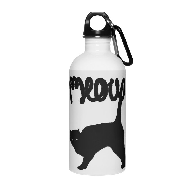 Meow Accessories Water Bottle by Speakerine / Florent Bodart