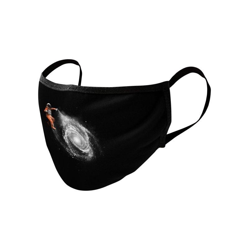 Space Art Accessories Face Mask by Speakerine / Florent Bodart