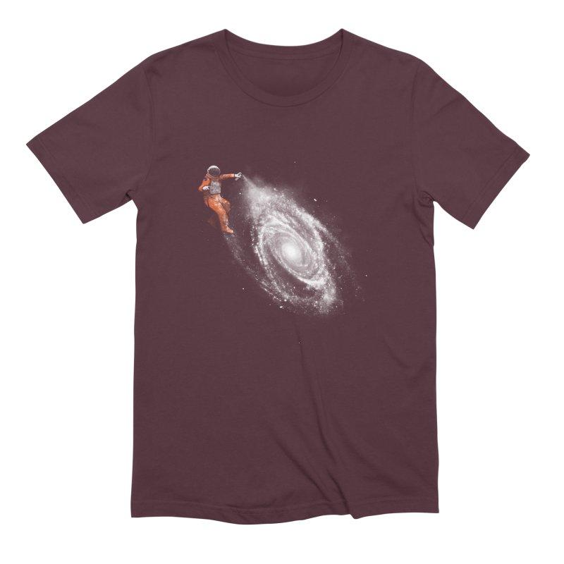 Space Art Men's Extra Soft T-Shirt by Speakerine / Florent Bodart