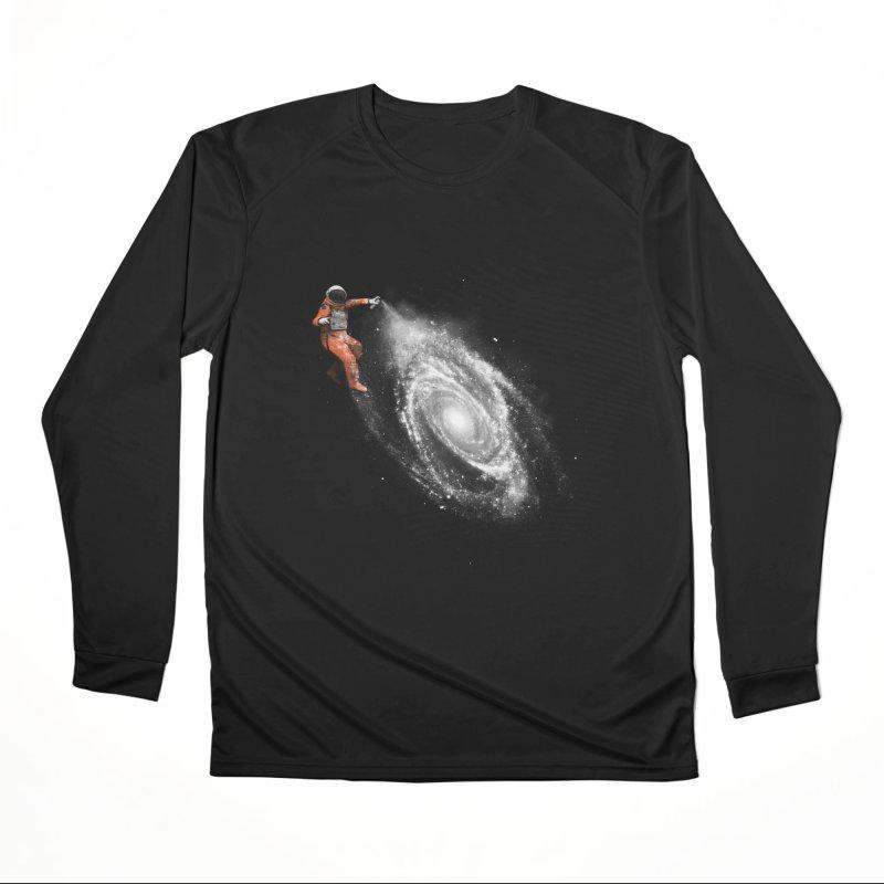 Space Art Men's Performance Longsleeve T-Shirt by Speakerine / Florent Bodart