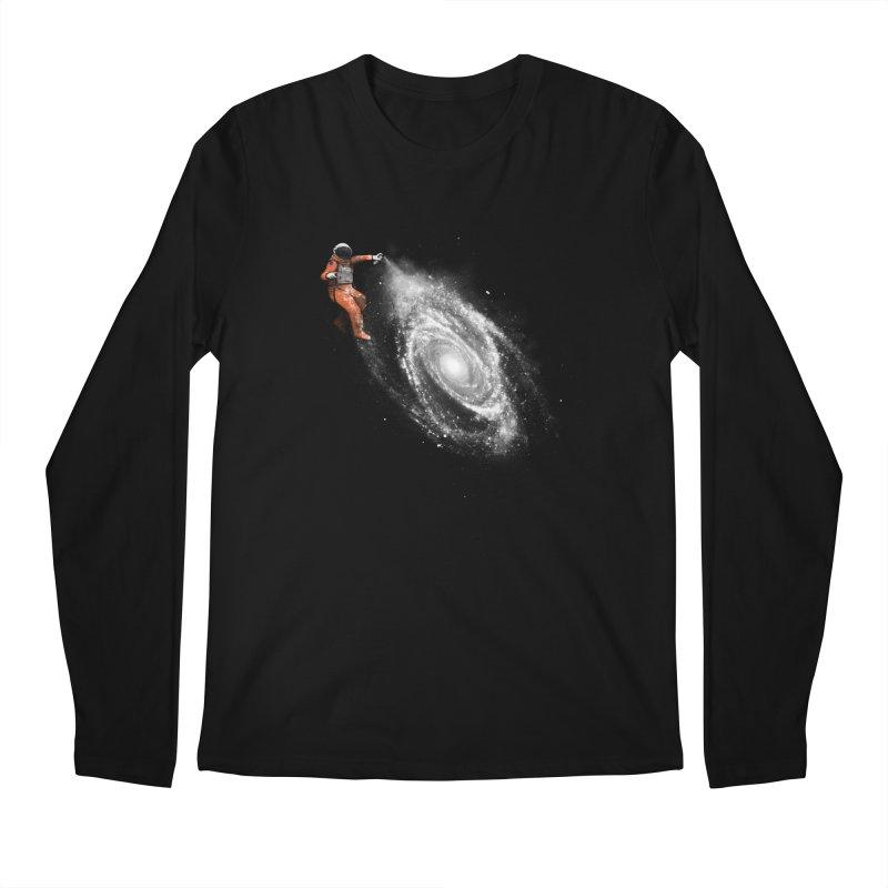 Space Art Men's Regular Longsleeve T-Shirt by Speakerine / Florent Bodart