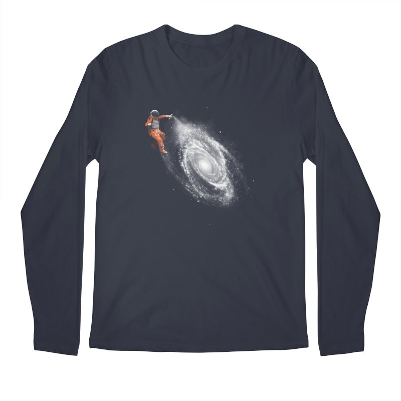 Space Art Men's Regular Longsleeve T-Shirt by Speakerine / Florent Bodart