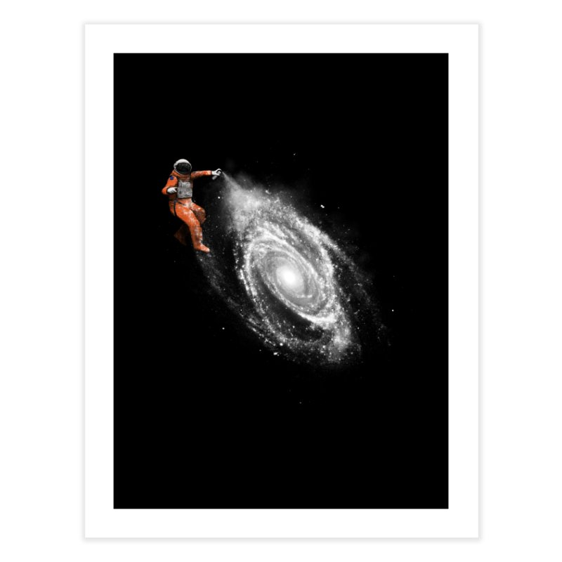 Space Art Home Fine Art Print by Speakerine / Florent Bodart
