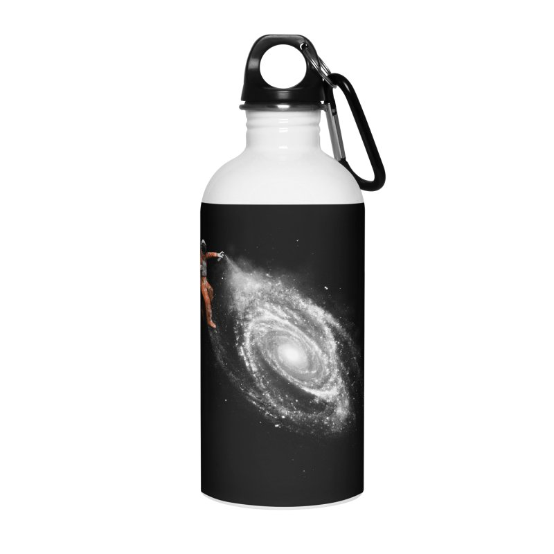 Space Art Accessories Water Bottle by Speakerine / Florent Bodart