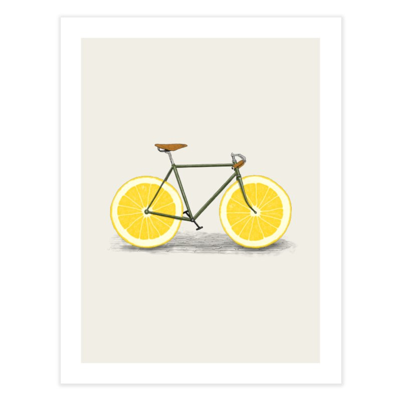 Zest Home Fine Art Print by Speakerine / Florent Bodart