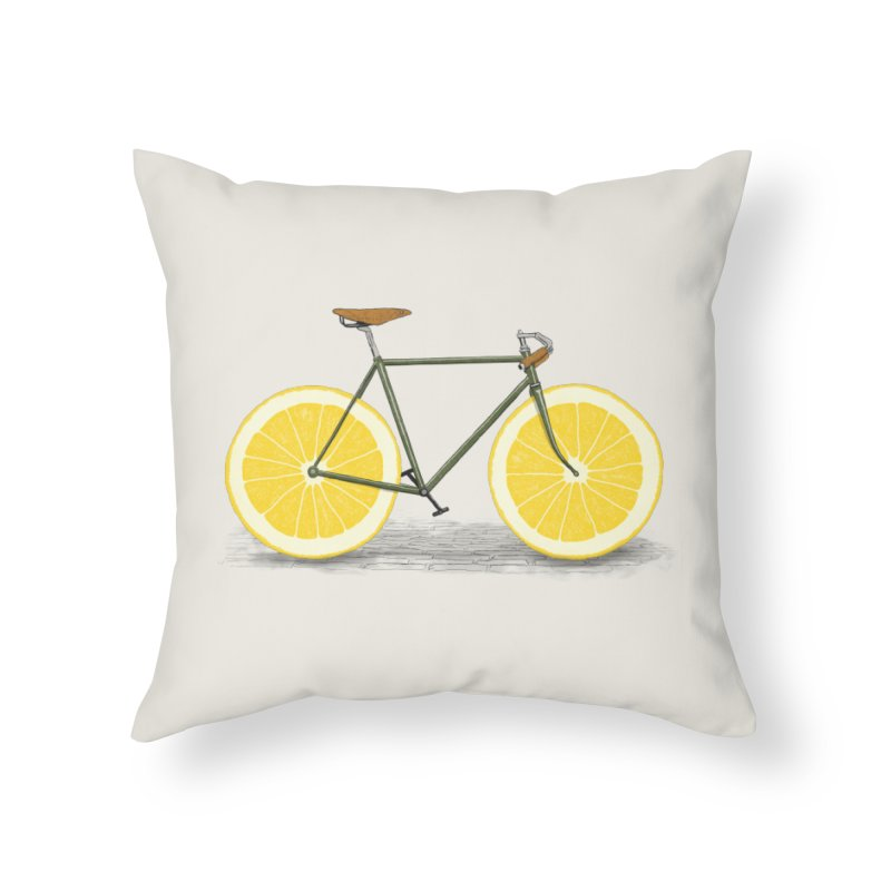 Zest Home Throw Pillow by Speakerine / Florent Bodart