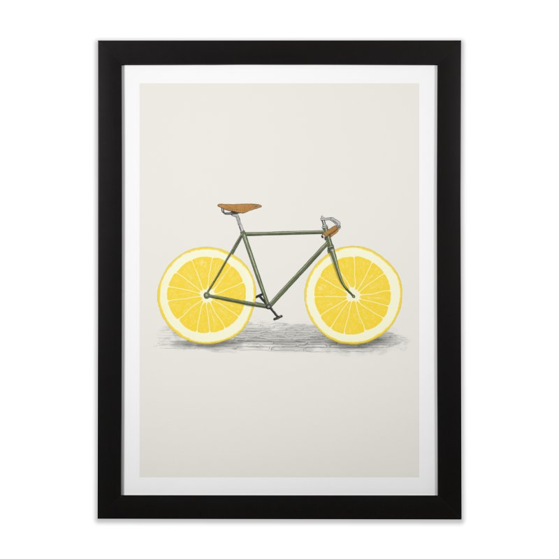 Zest Home Framed Fine Art Print by Speakerine / Florent Bodart