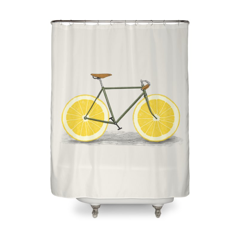 Zest Home Shower Curtain by Speakerine / Florent Bodart
