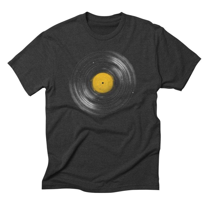 Sound System Men's Triblend T-shirt by Speakerine / Florent Bodart