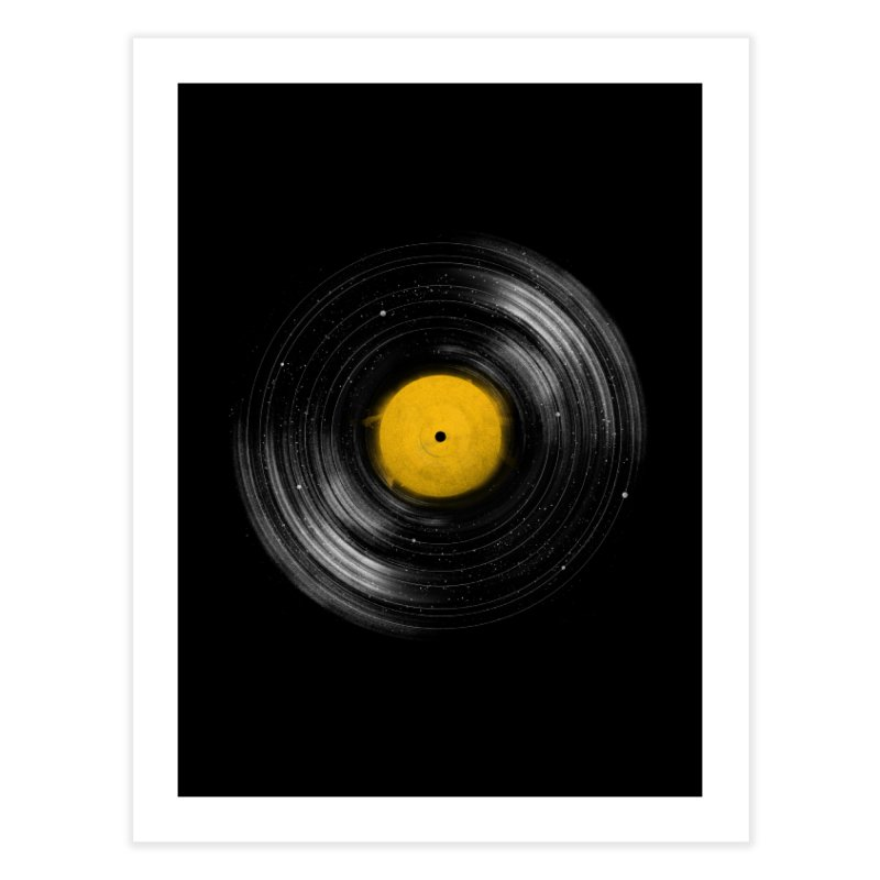 Sound System Home Fine Art Print by Speakerine / Florent Bodart