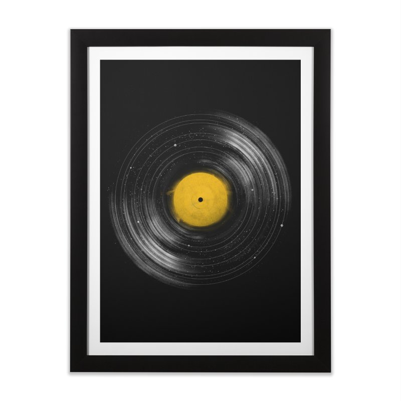 Sound System Home Framed Fine Art Print by Speakerine / Florent Bodart
