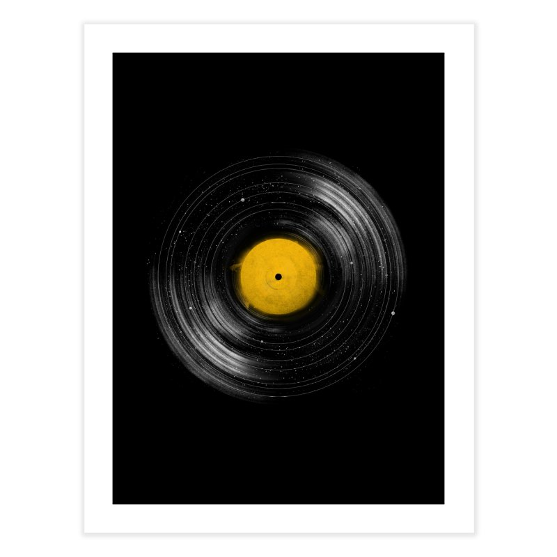 Sound System Home Fine Art Print by Speakerine / Florent Bodart