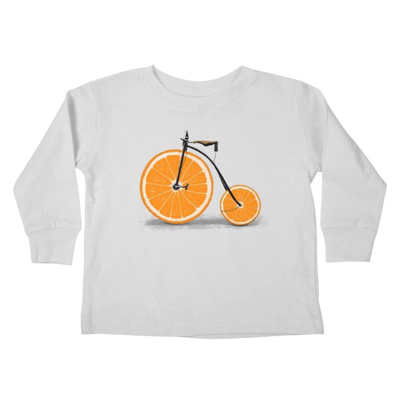 Vitamin Kids Toddler Longsleeve T-Shirt by Speakerine / Florent Bodart