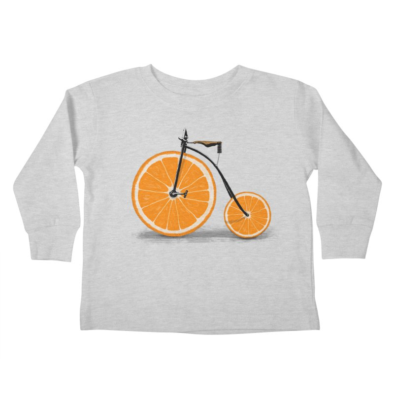 Vitamin Kids Toddler Longsleeve T-Shirt by Speakerine / Florent Bodart