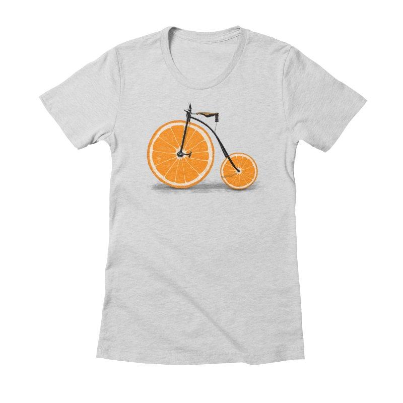 Vitamin Women's Fitted T-Shirt by Speakerine / Florent Bodart