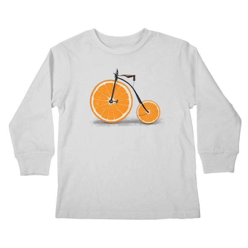 Vitamin Kids Longsleeve T-Shirt by Speakerine / Florent Bodart