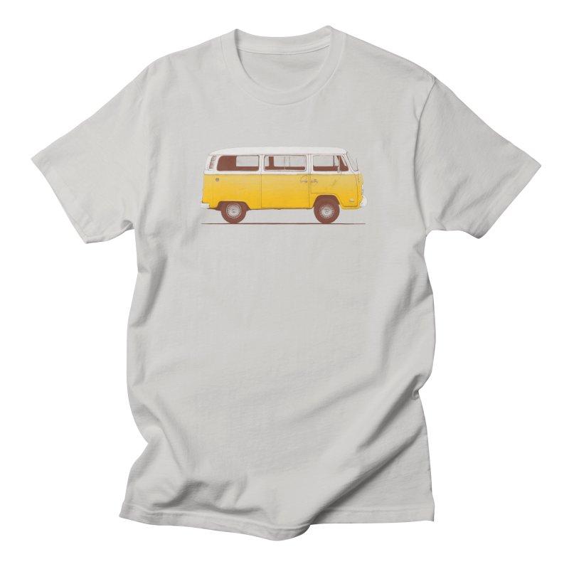 Yellow Van Men's T-Shirt by Speakerine / Florent Bodart