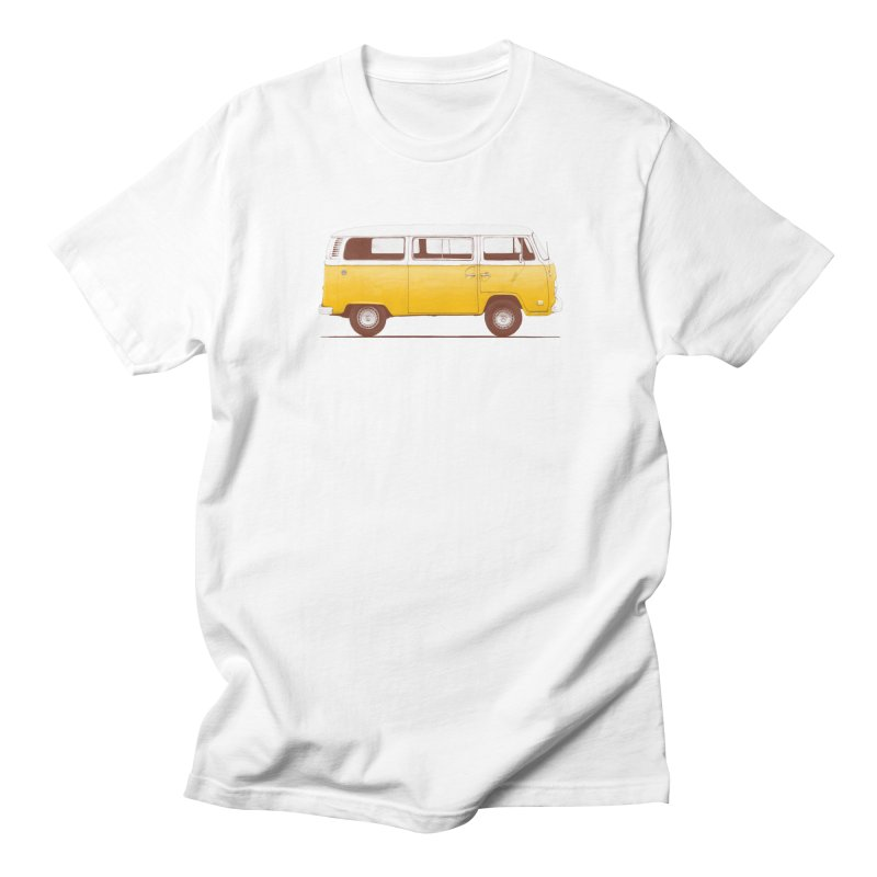 Yellow Van Men's T-Shirt by Speakerine / Florent Bodart