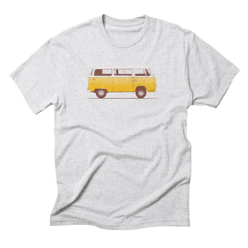 Yellow Van Men's Triblend T-shirt by Speakerine / Florent Bodart