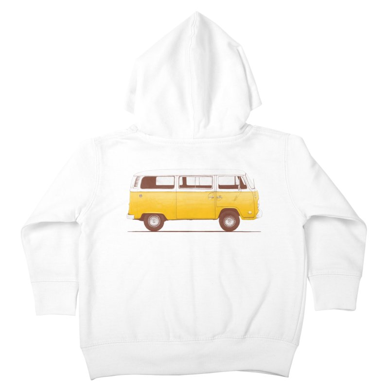 Yellow Van Kids Toddler Zip-Up Hoody by Speakerine / Florent Bodart