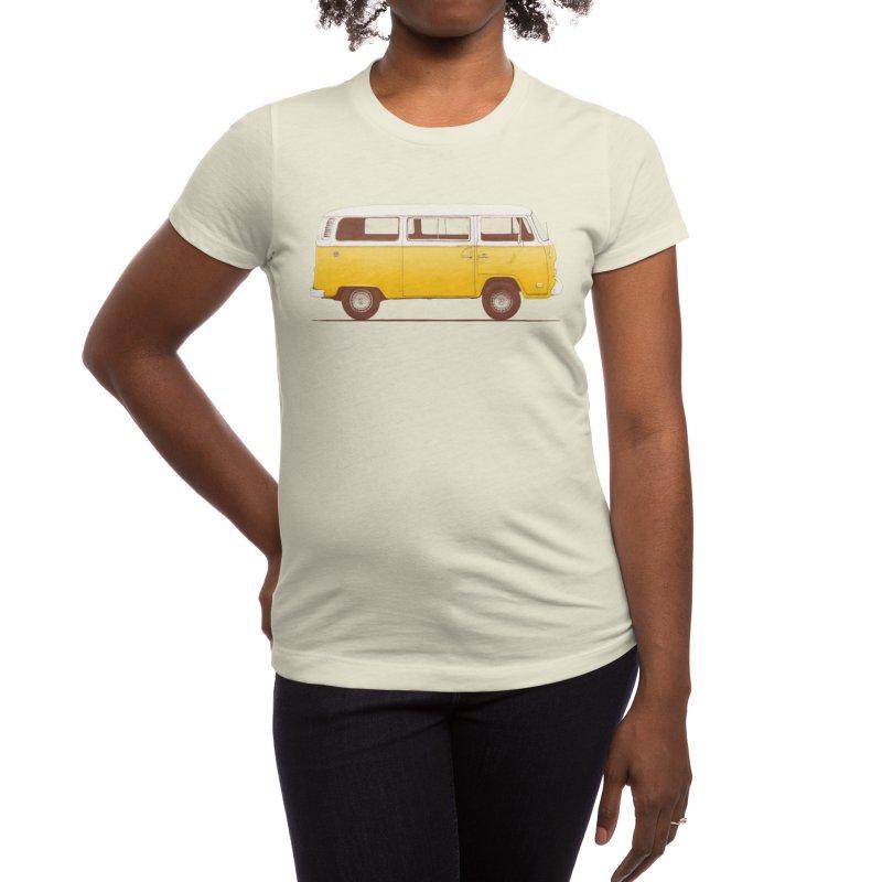 Yellow Van Women's T-Shirt by Speakerine / Florent Bodart