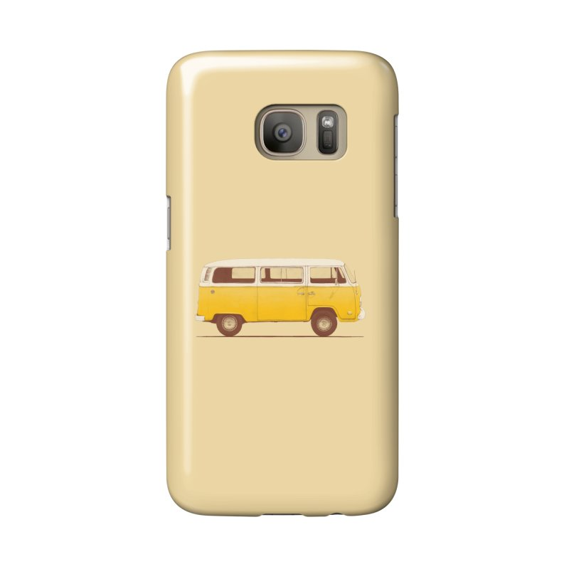 Yellow Van Accessories Phone Case by Speakerine / Florent Bodart