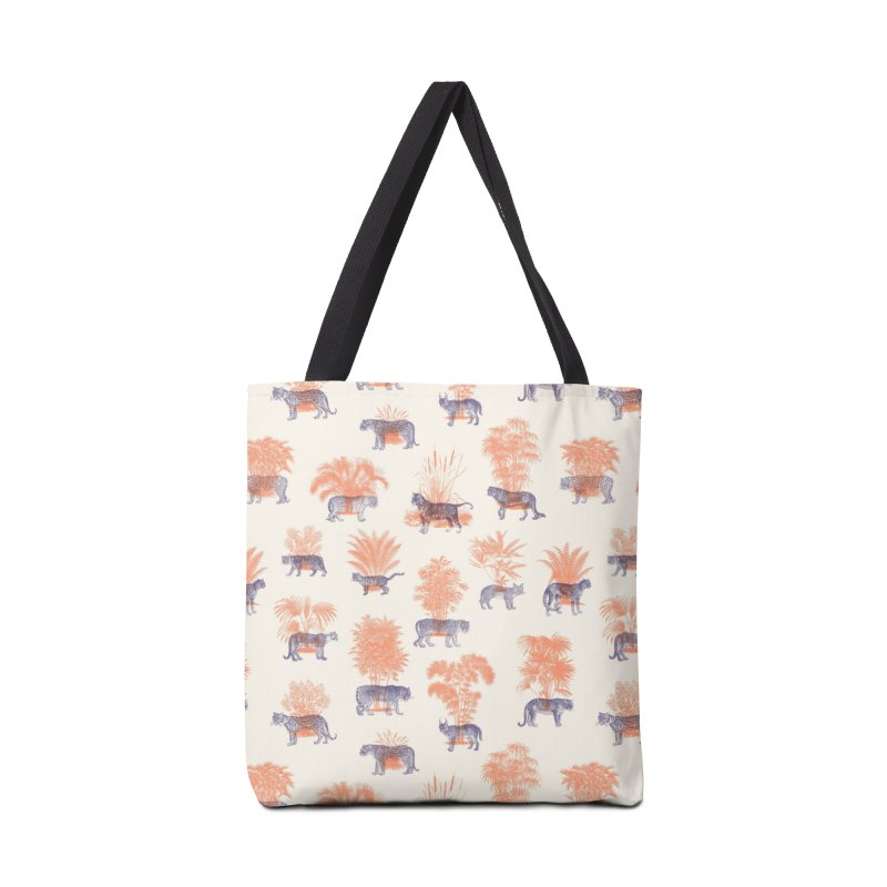 Where they Belong - Tigers Accessories Tote Bag Bag by Speakerine / Florent Bodart