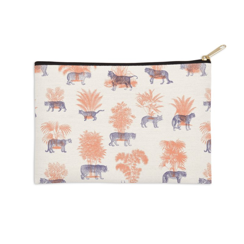 Where they Belong - Tigers Accessories Zip Pouch by Speakerine / Florent Bodart