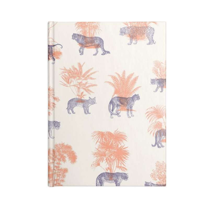 Where they Belong - Tigers Accessories Blank Journal Notebook by Speakerine / Florent Bodart