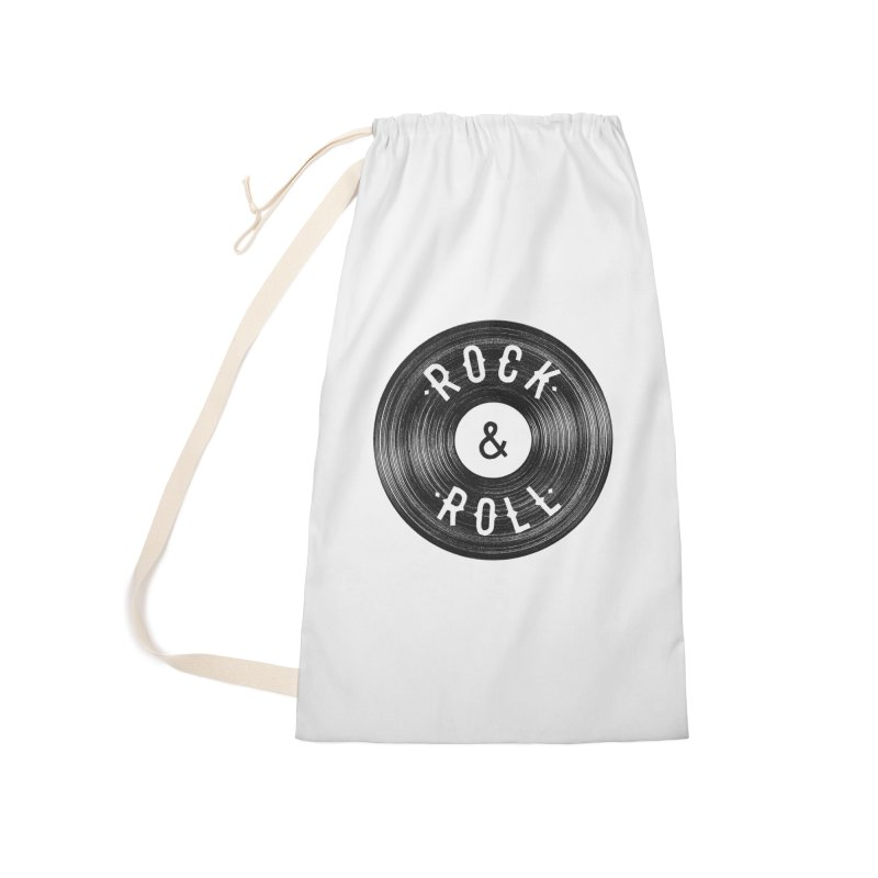Rock n Roll Accessories Laundry Bag Bag by Speakerine / Florent Bodart