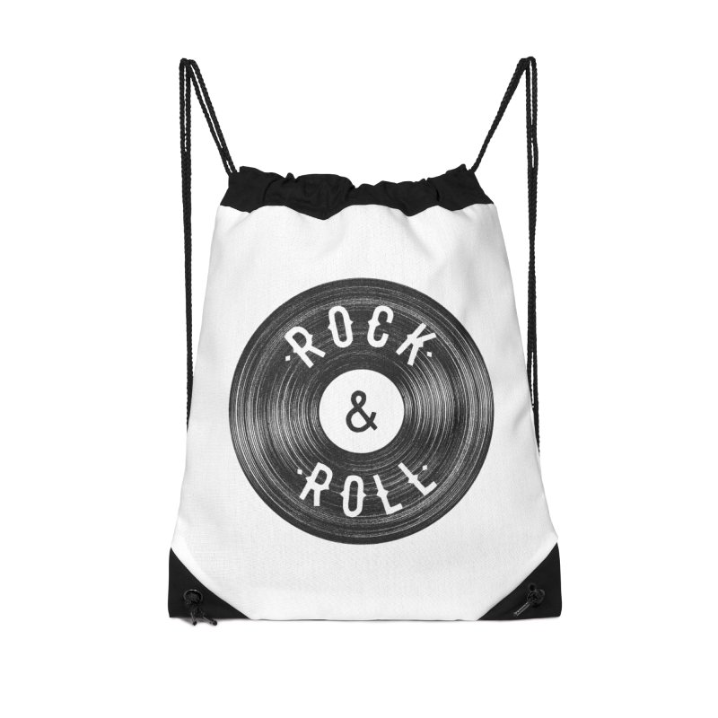 Rock n Roll Accessories Drawstring Bag Bag by Speakerine / Florent Bodart