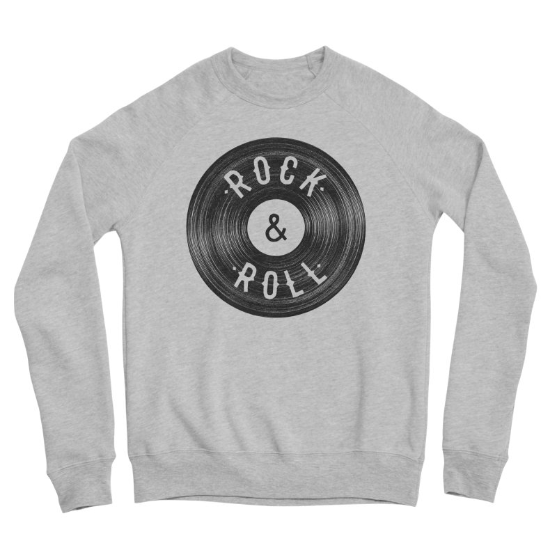 Rock n Roll Women's Sponge Fleece Sweatshirt by Speakerine / Florent Bodart