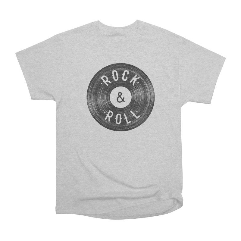 Rock n Roll Men's Heavyweight T-Shirt by Speakerine / Florent Bodart