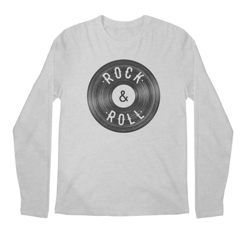 Rock n Roll Men's Longsleeve T-Shirt by Speakerine / Florent Bodart