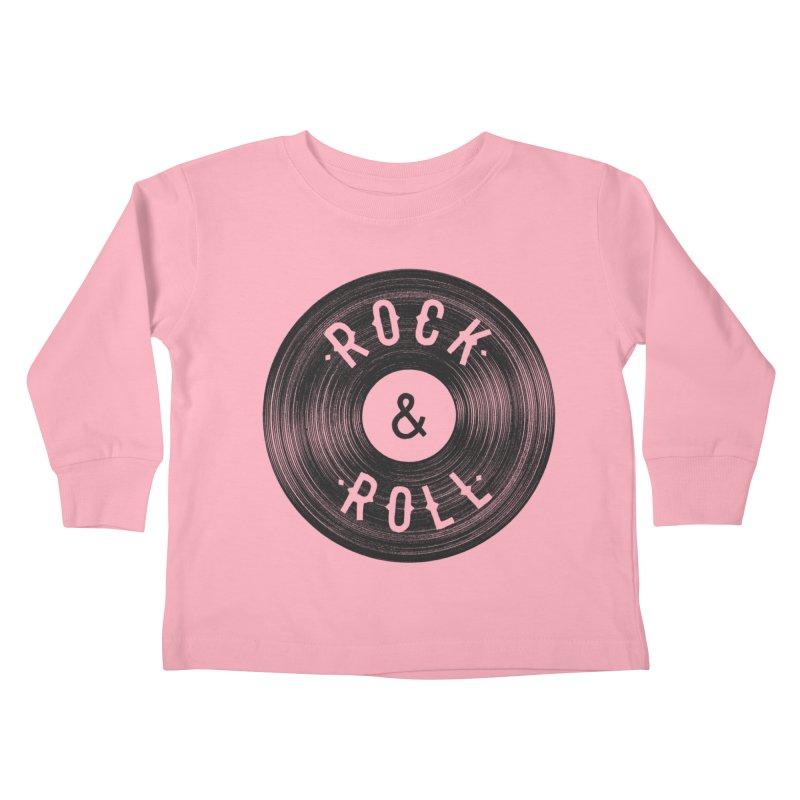 Rock n Roll Kids Toddler Longsleeve T-Shirt by Speakerine / Florent Bodart