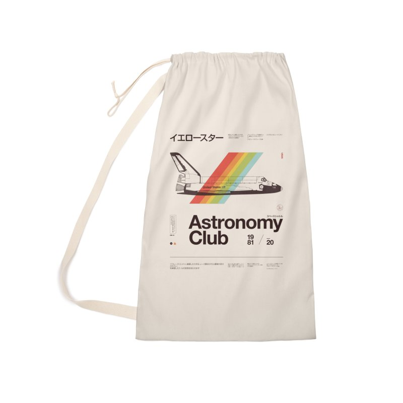 Astronomy Club Accessories Laundry Bag Bag by Speakerine / Florent Bodart