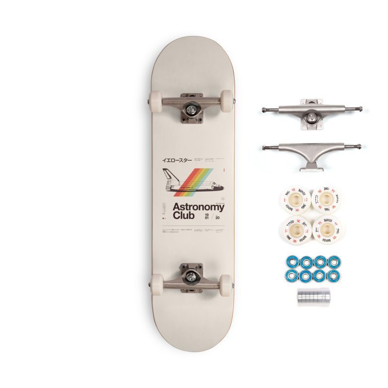 Astronomy Club Accessories Complete - Premium Skateboard by Speakerine / Florent Bodart
