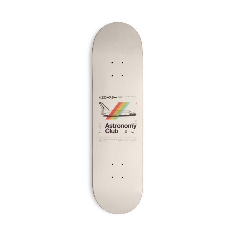 Astronomy Club Accessories Deck Only Skateboard by Speakerine / Florent Bodart