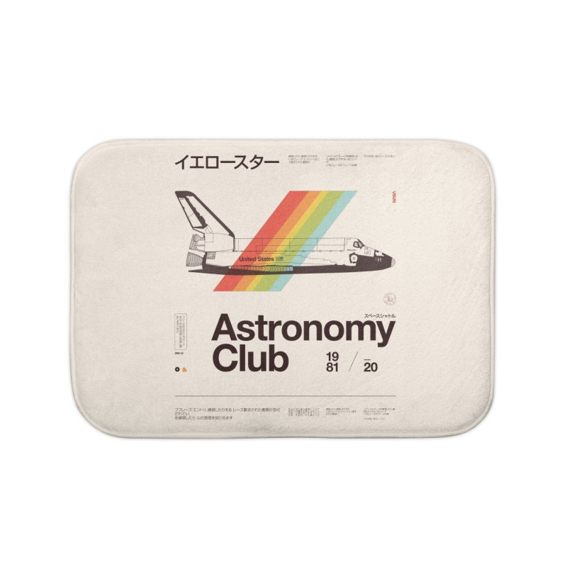 Astronomy Club Home Bath Mat by Speakerine / Florent Bodart