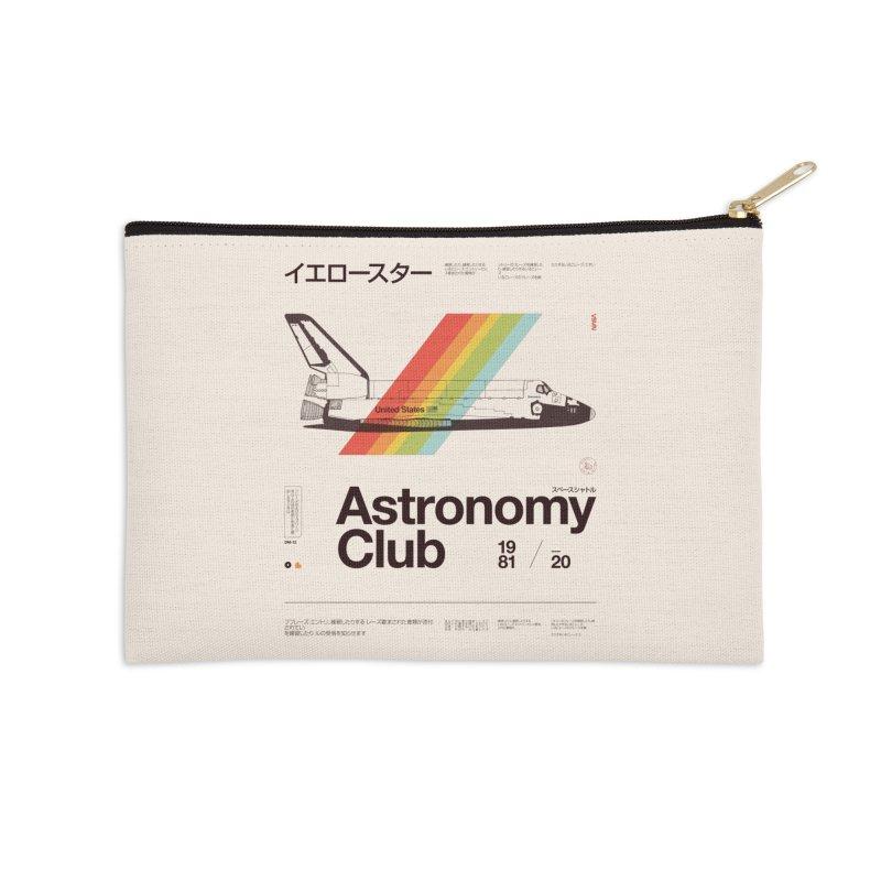 Astronomy Club Accessories Zip Pouch by Speakerine / Florent Bodart