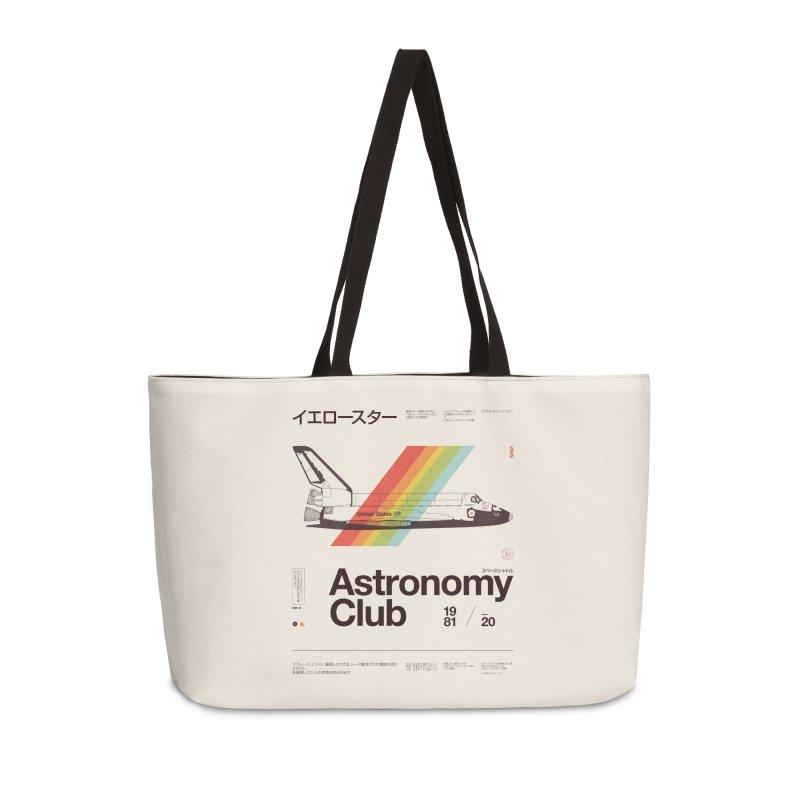 Astronomy Club Accessories Weekender Bag Bag by Speakerine / Florent Bodart