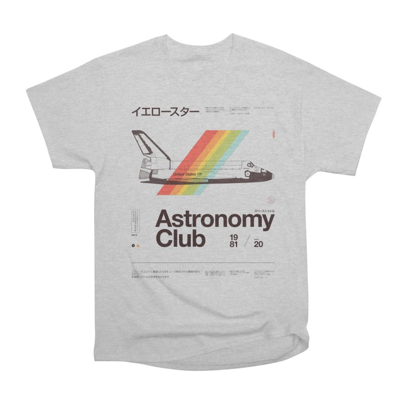 Astronomy Club Men's T-Shirt by Speakerine / Florent Bodart