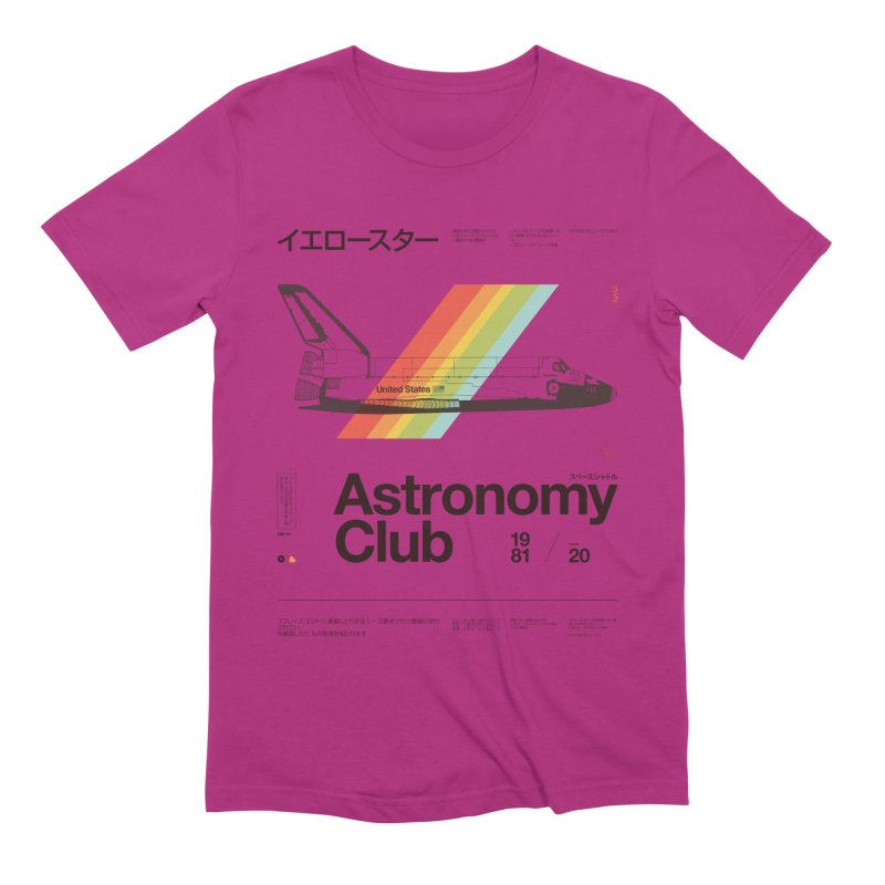 Astronomy Club Men's Extra Soft T-Shirt by Speakerine / Florent Bodart