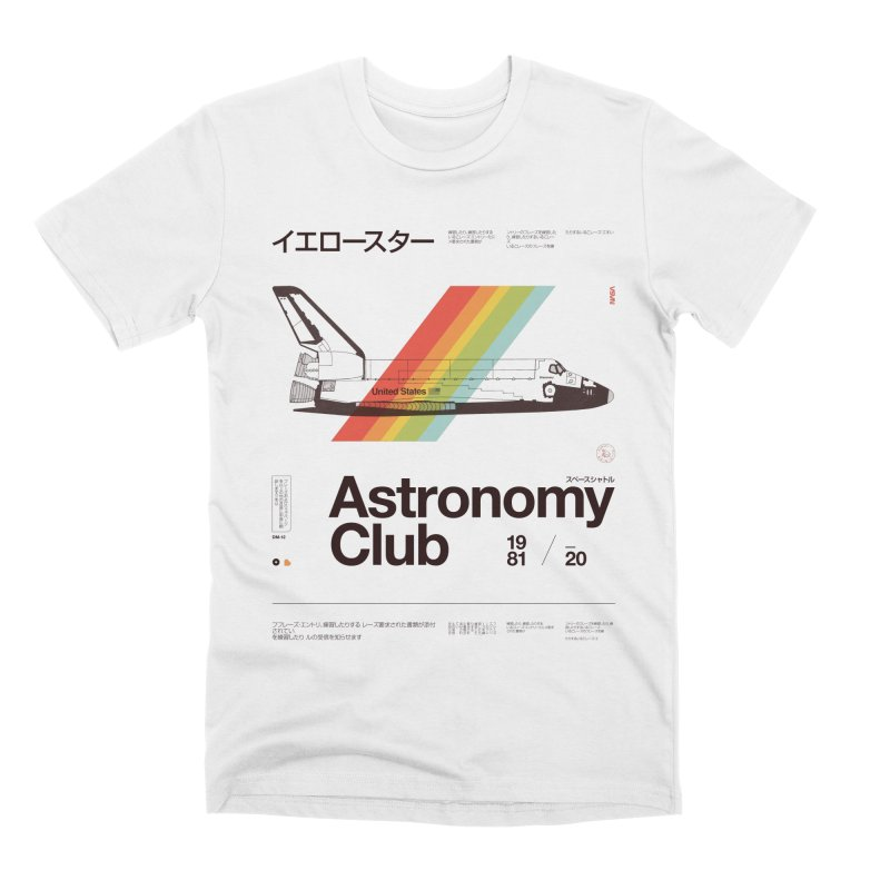 Astronomy Club Men's Premium T-Shirt by Speakerine / Florent Bodart
