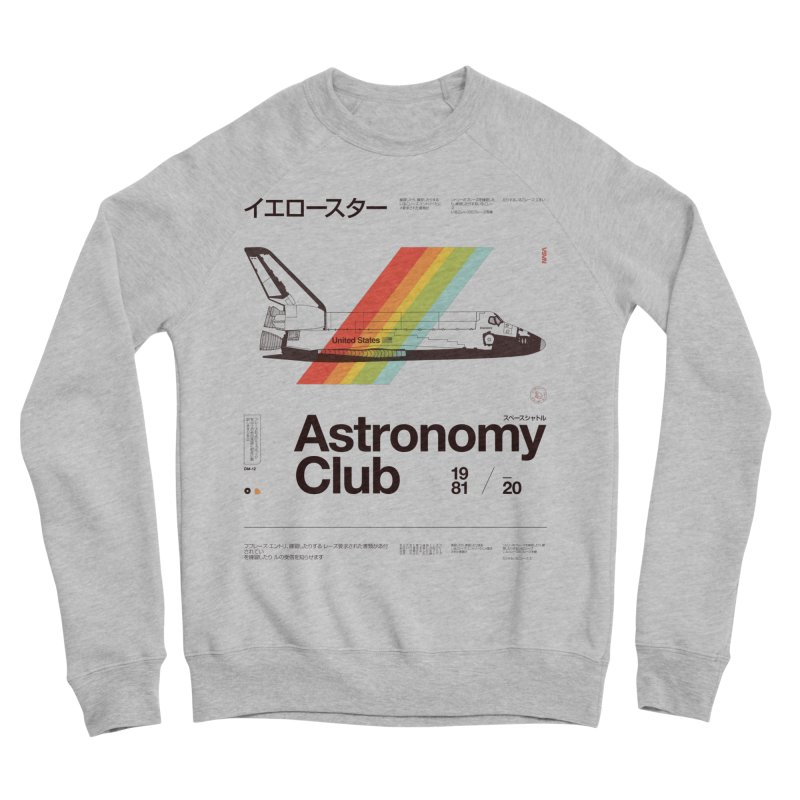 Astronomy Club Women's Sponge Fleece Sweatshirt by Speakerine / Florent Bodart
