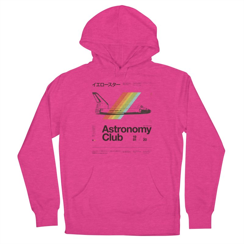 Astronomy Club Women's French Terry Pullover Hoody by Speakerine / Florent Bodart