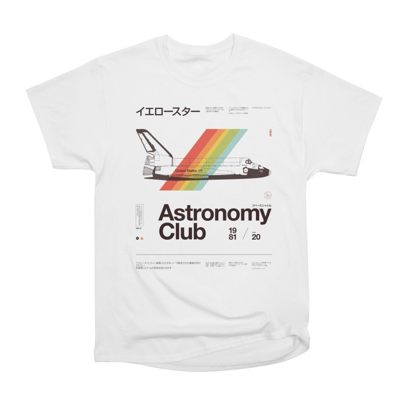 Astronomy Club Women's Heavyweight Unisex T-Shirt by Speakerine / Florent Bodart