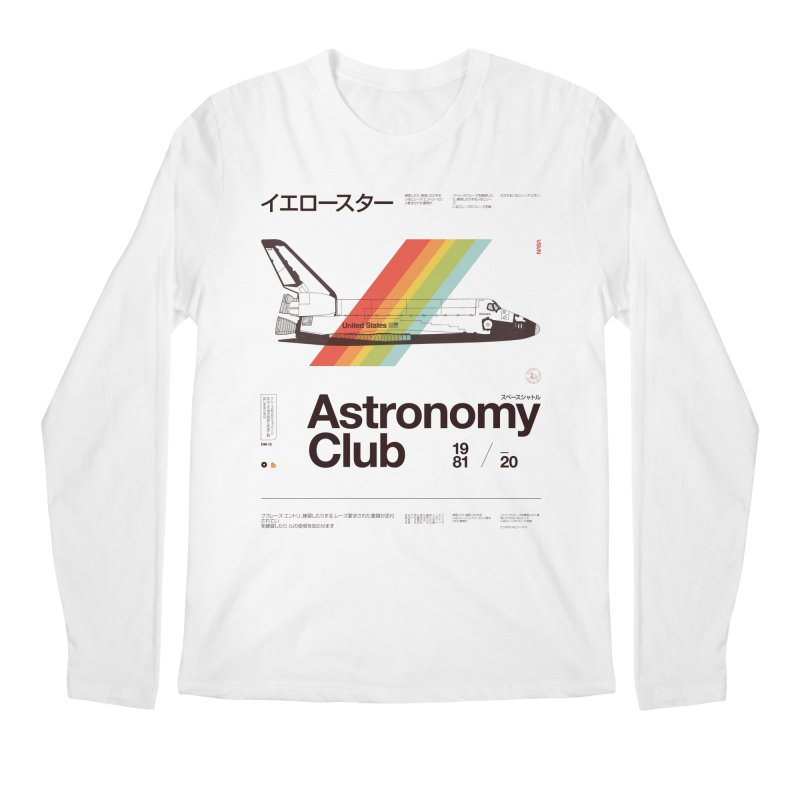 Astronomy Club Men's Regular Longsleeve T-Shirt by Speakerine / Florent Bodart