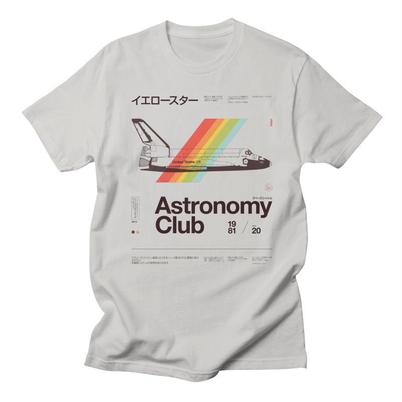 Astronomy Club Men's T-Shirt by Speakerine / Florent Bodart